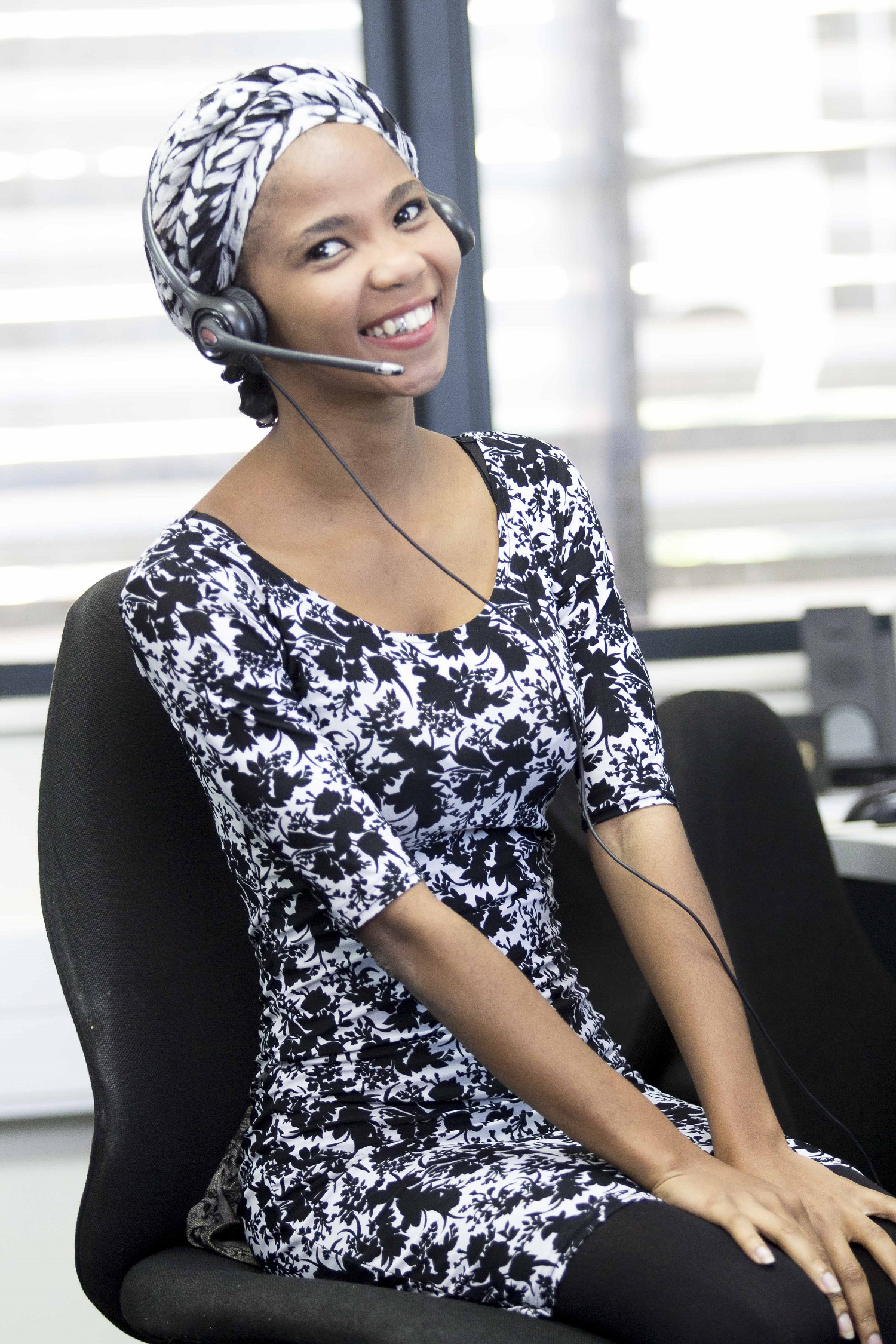 Image of CCI Call Centre Employee